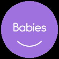 MT ClassLogo Babies SolidCircle PURPLE web